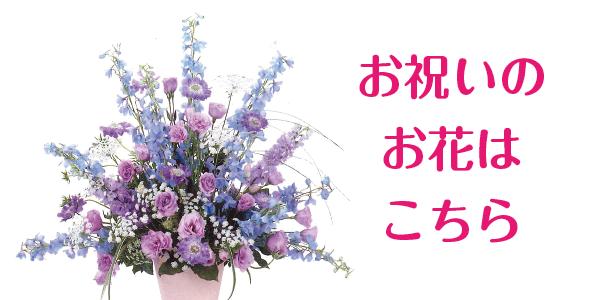 お祝いのお花はこちら
